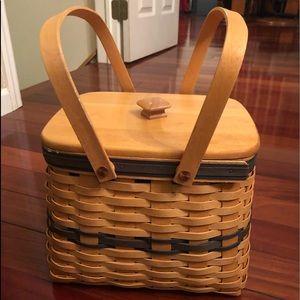 Longaberger harbor basket w protector